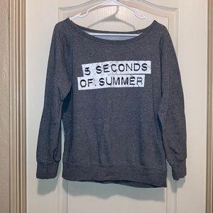 2/$25 5 Seconds of Summer Concert Sweatshirt